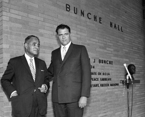 Ralph Bunche and Chancellor Young